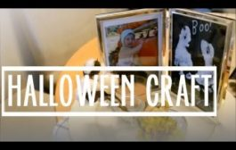 CUTEST DIY HALLOWEEN / FALL CRAFT WITH YOUR BABY (Gift Keepsake i...