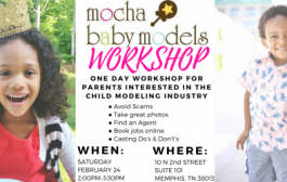 Mocha Baby Modeling Workshop!...