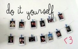 DIY Hanging Picture Display...