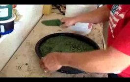 How-to Make Cement Stepping Stones with Premix Bags of Concrete...