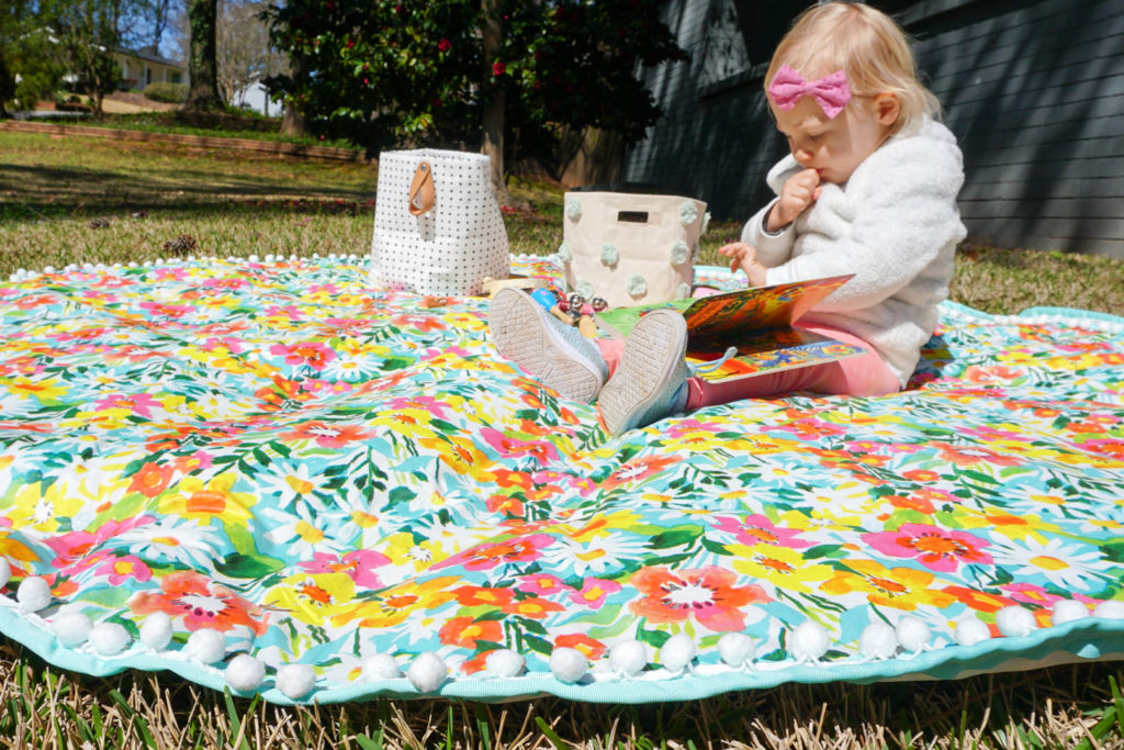 This Unexpected Material Makes a Great DIY Outdoor Playmat...