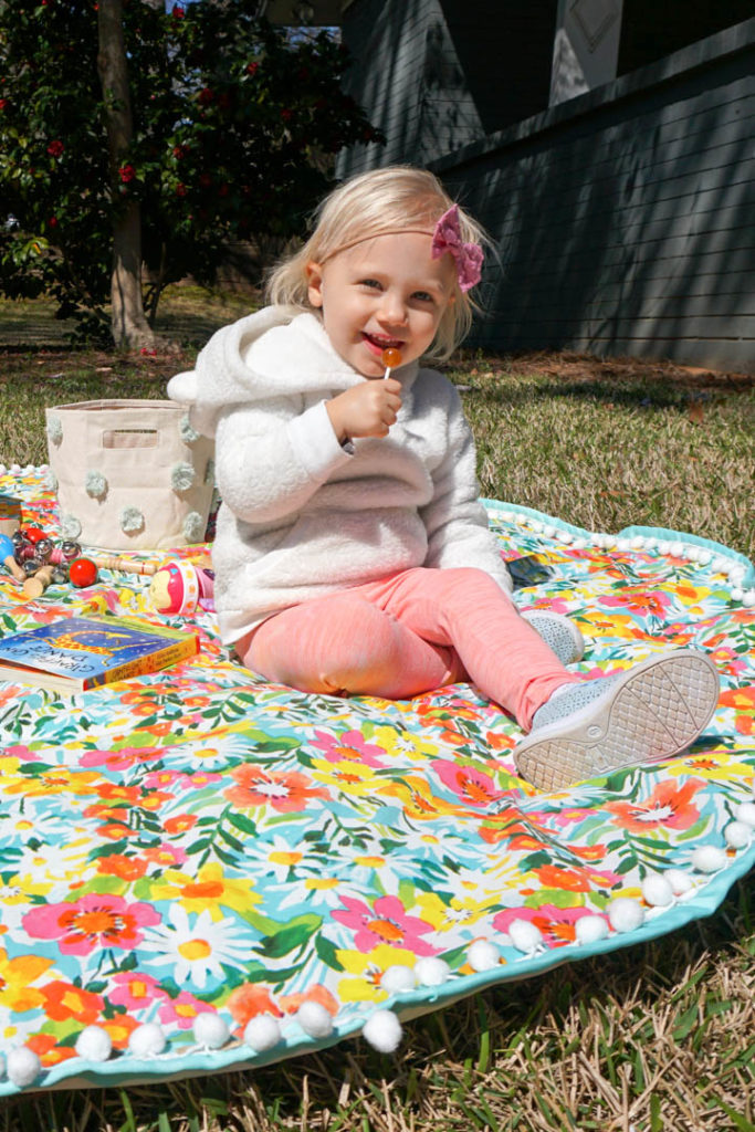 DIY Outdoor Playmat Tutorial - Project Nursery