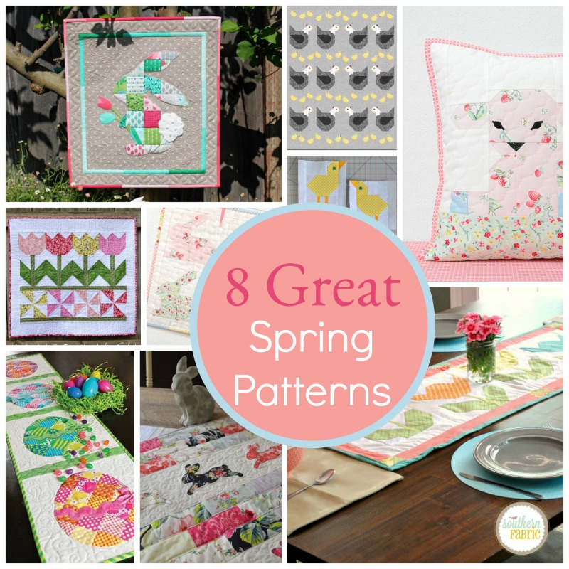 8 Great Easter Quilts and Patterns...