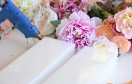 DIY Floral Letter: Perfectly Pretty for Spring...