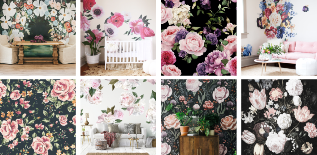 bold Floral Wallpaper Roundup Project Nursery