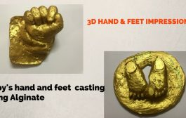 DIY BABY HAND & FOOT IMPRESSIONS (SUPER EASY AND CHEAP) create 3D...