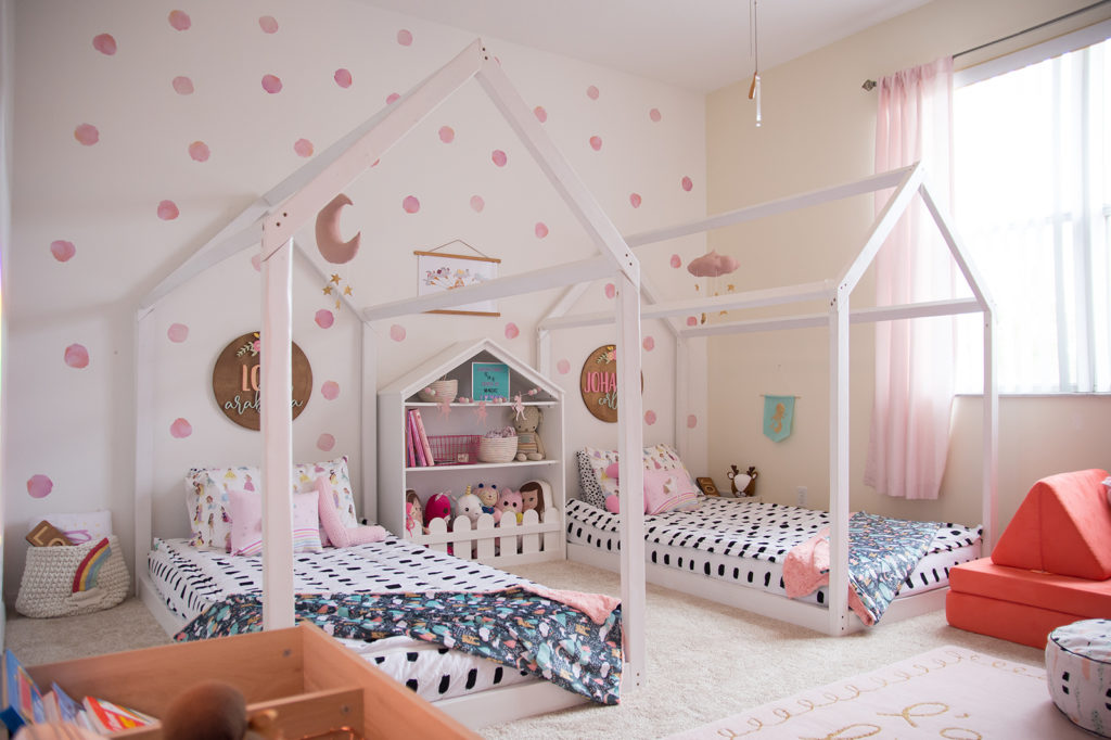 Fairytale Inspired Girls Room House Fort Beds