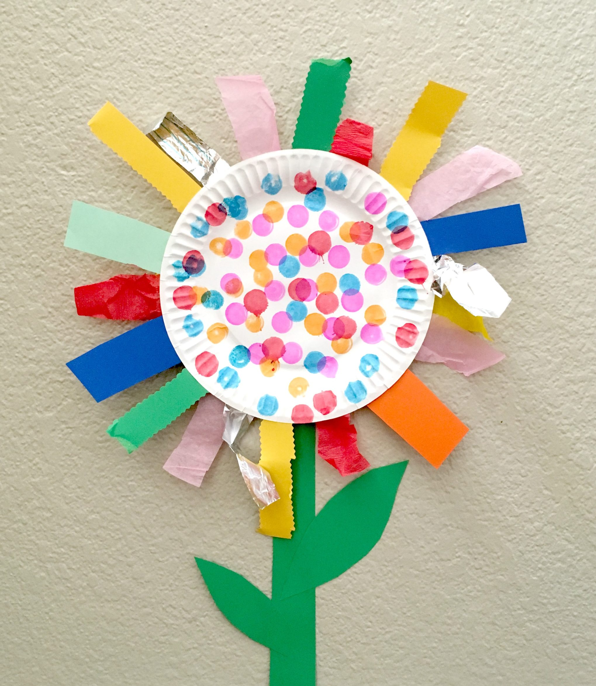 DIY Mother's Day Gift - Paper Plate Flower