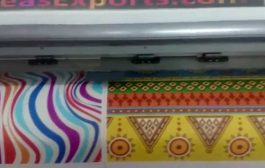 Juco fabric - printed digitally at Oriental Overseas Exports fact...