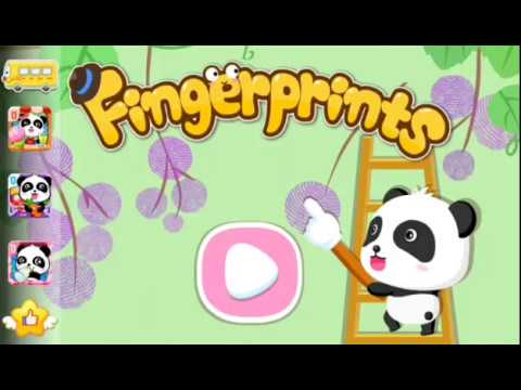 BABY BUS (finger prints) for kids, SING, DANCE , TOGETHER WITH AN...