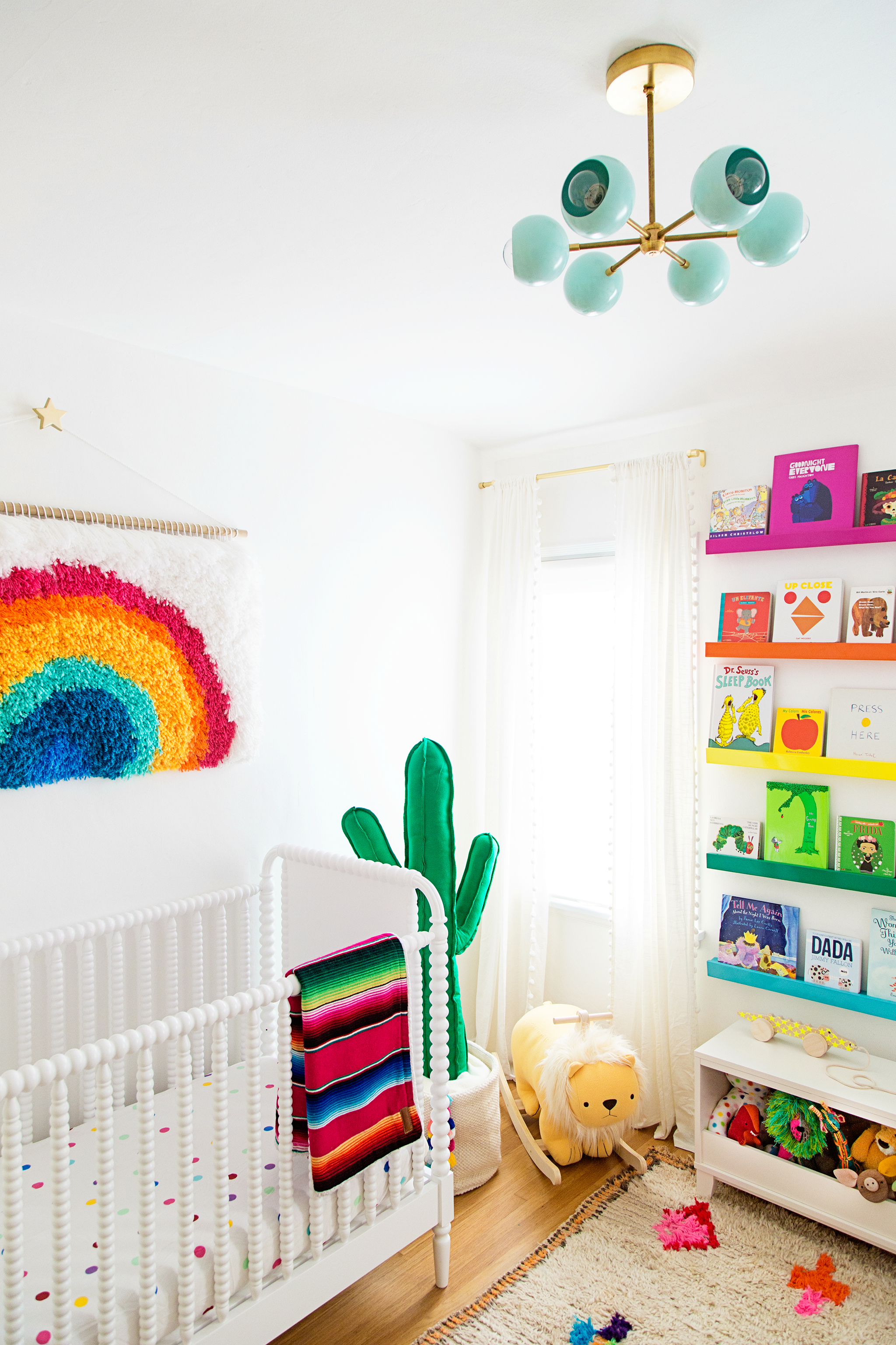 Studio DIY's Rainbow Nursery