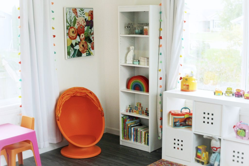 Whimsical Boho Playroom