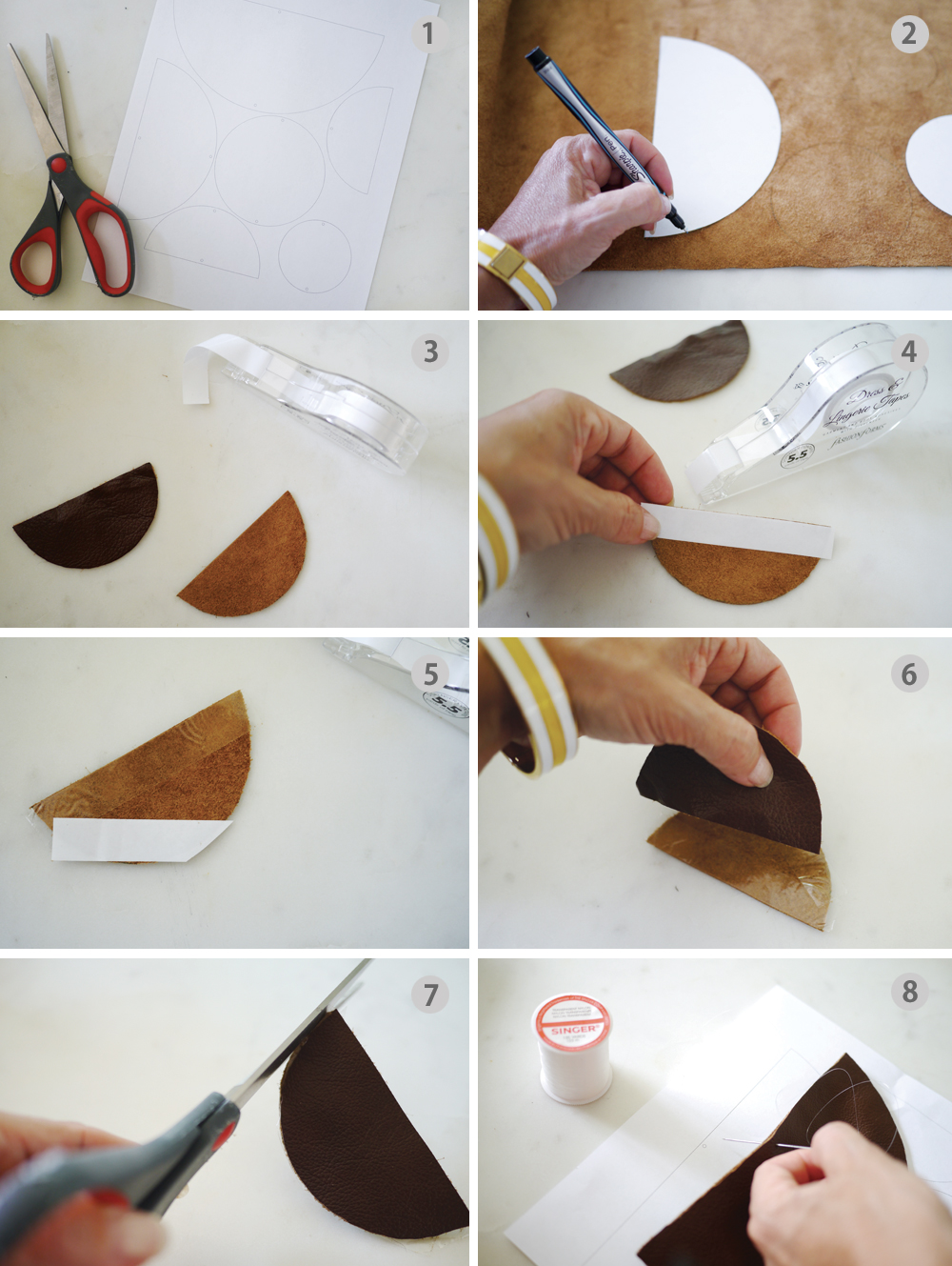 DIY Leather Mobile