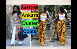 Awesome Ankara Duster Coats and Jackets, Must see!...