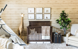 This Lovely Safari Nursery Really Has it All + Tips on Filling a ...