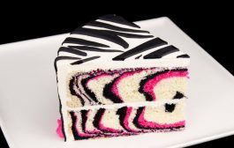 How to Make a Pink Zebra Cake Tutorial from Cookies Cupcakes and ...
