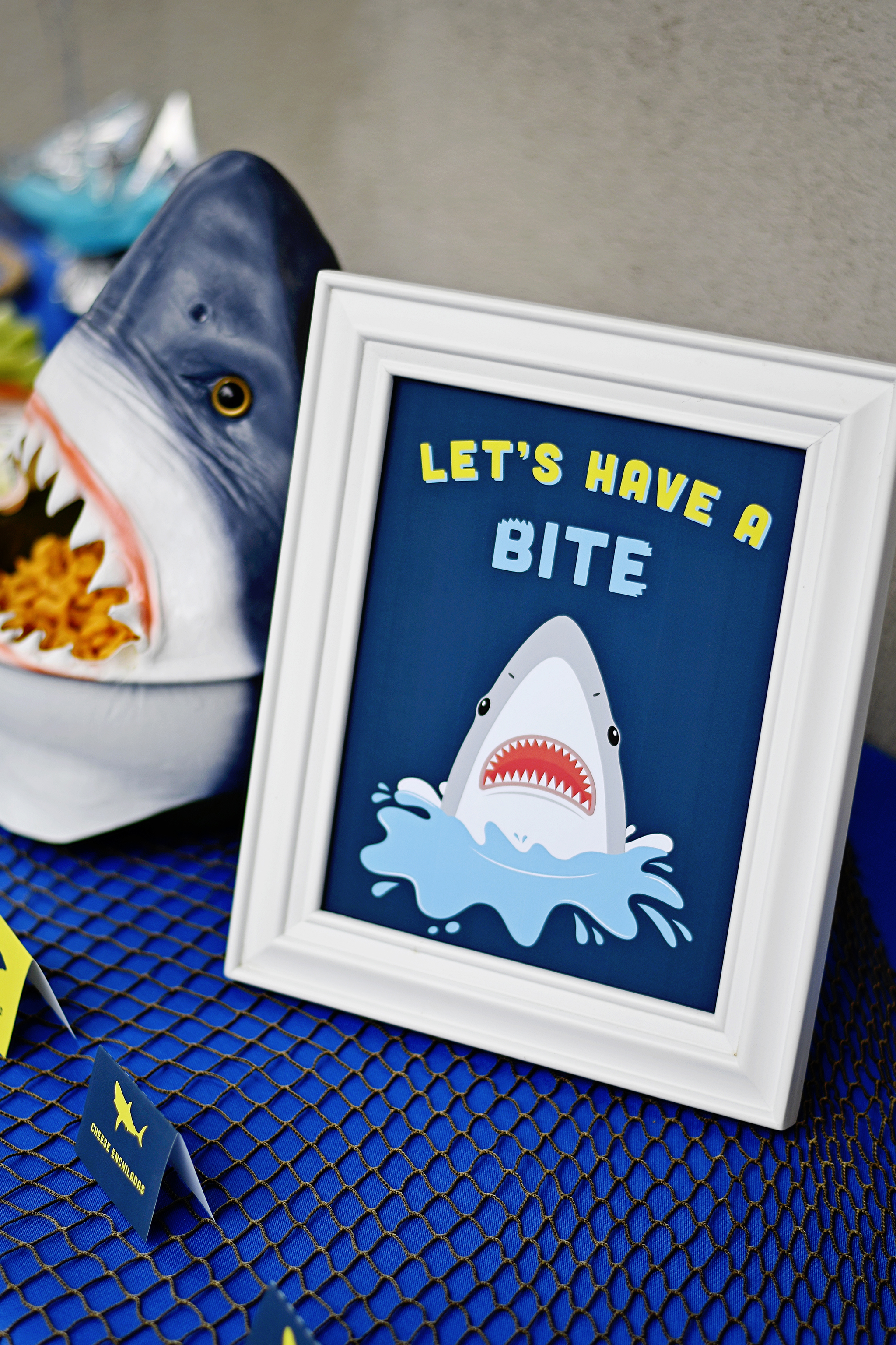 let's have a bite buffet table sign
