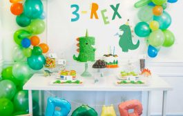 This 3-Rex Birthday Party is a Roaring Good Time...
