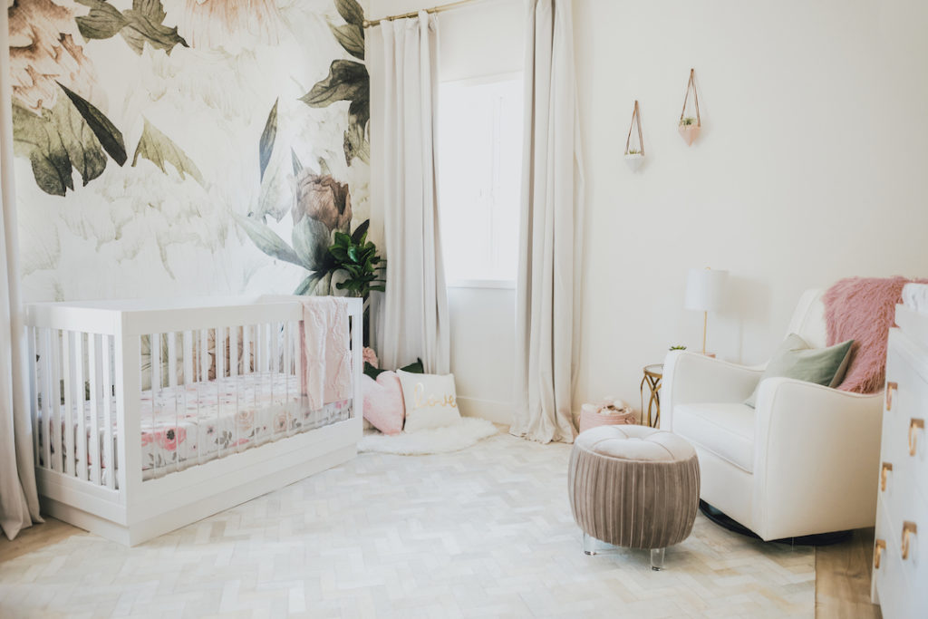 Jessi Malay's Gorgeous Floral Nursery Reveal...