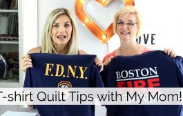 How to Make a T-Shirt Quilt...