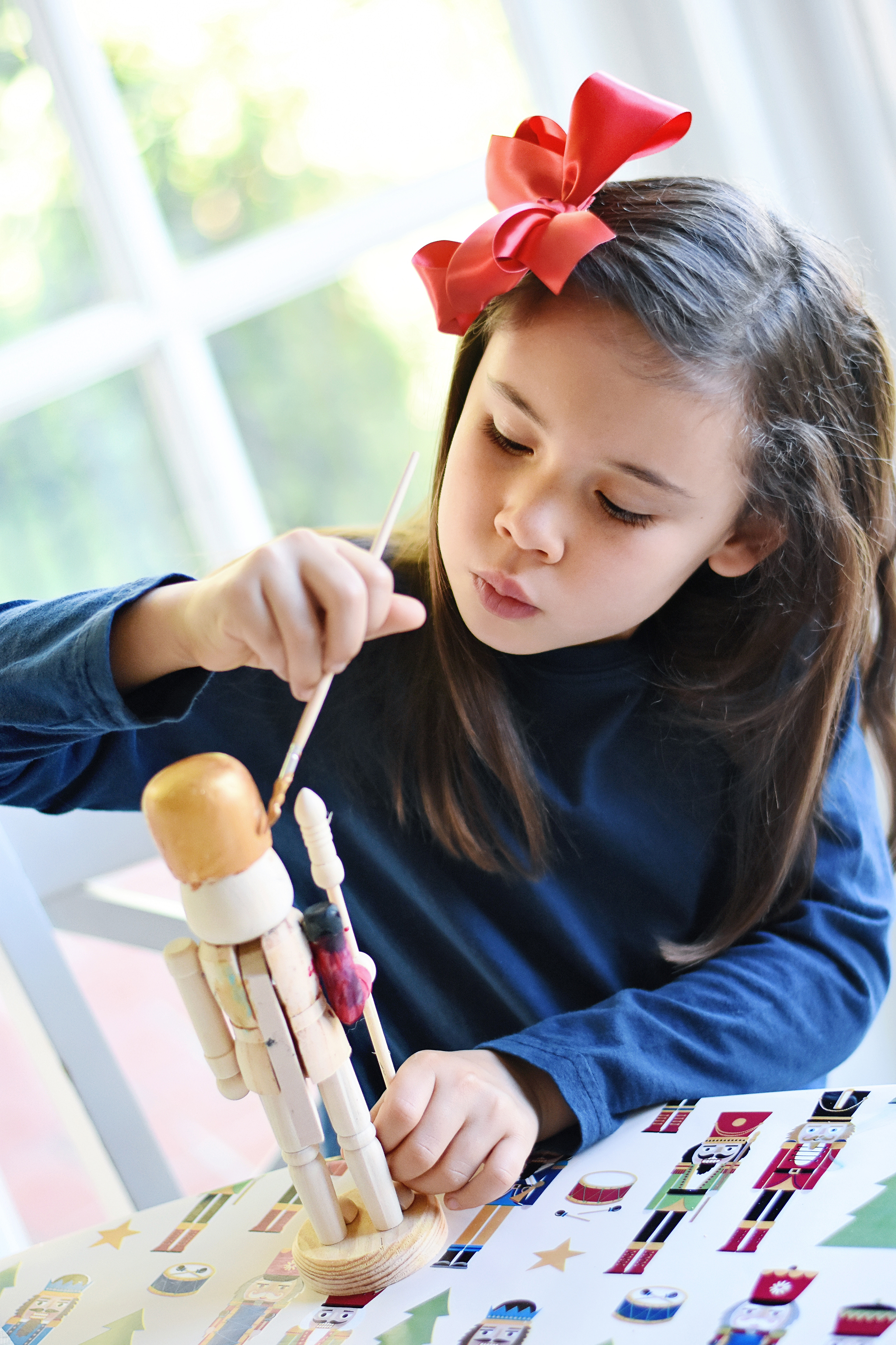 Paint Your Own Nutcrackers make great party activities!
