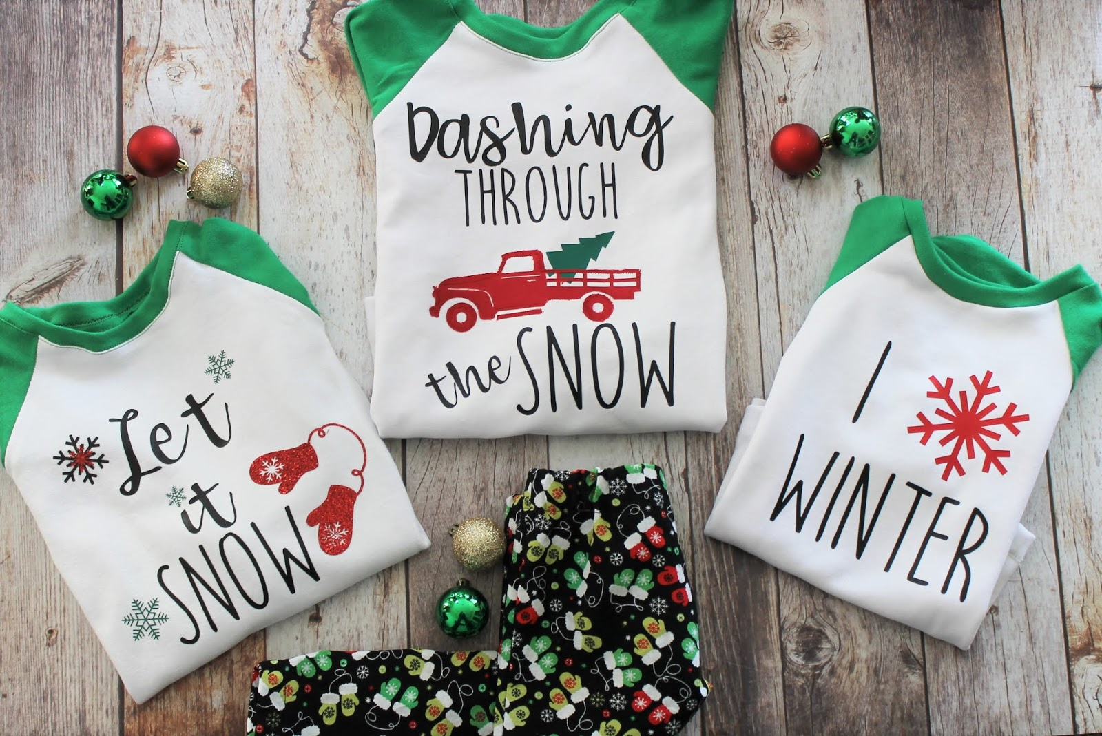 Holiday Pajamas for the Whole family from GYCT Designs