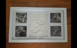 Little Hippo II Doing Atticus Handprint Picture Frame...