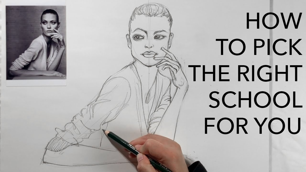 How to Pick the Right Fashion/Art School for You...