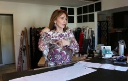 Let's Sew - Border Print Cowl Neck - Episode 68...
