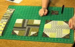 Quilting Quickly - Star Crossed Baby Quilt with Jelly Roll Strips...