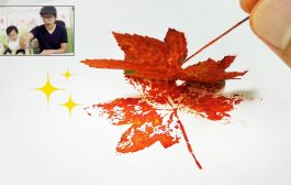 Fall Leaf Prints Painting Idea | Easy Fun Creative Art...