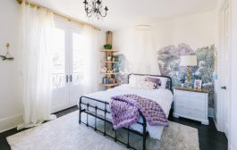 A Beautiful Nature-Inspired Lavender Girl's Room Reveal...