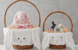 20 Adorable Easter Baskets for Baby's First Easter...