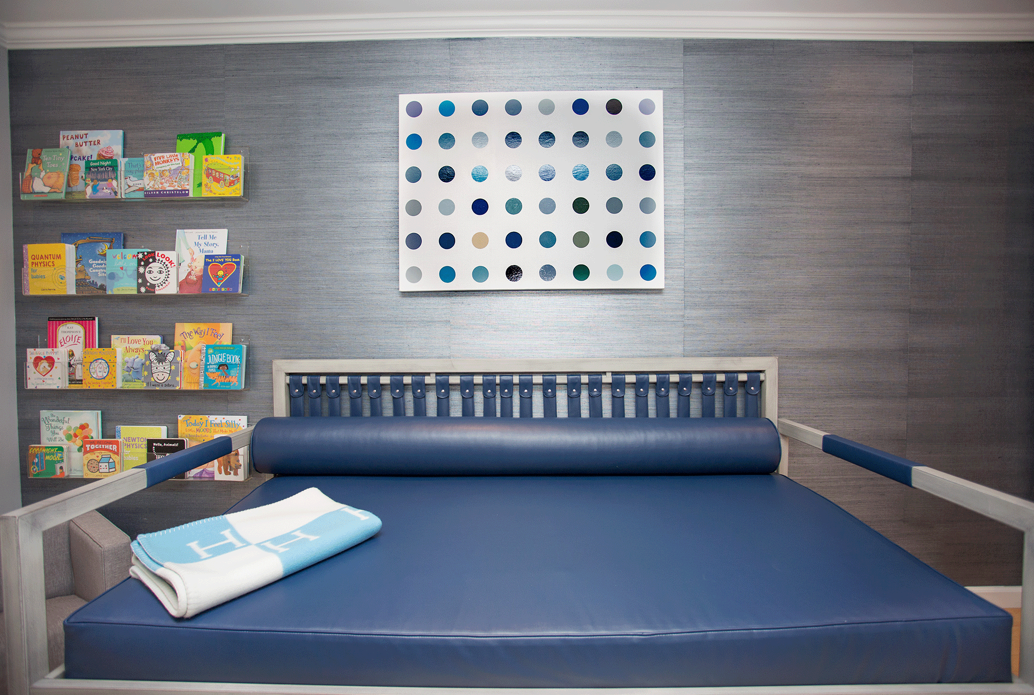 Modern Boy's Nursery with Daybed
