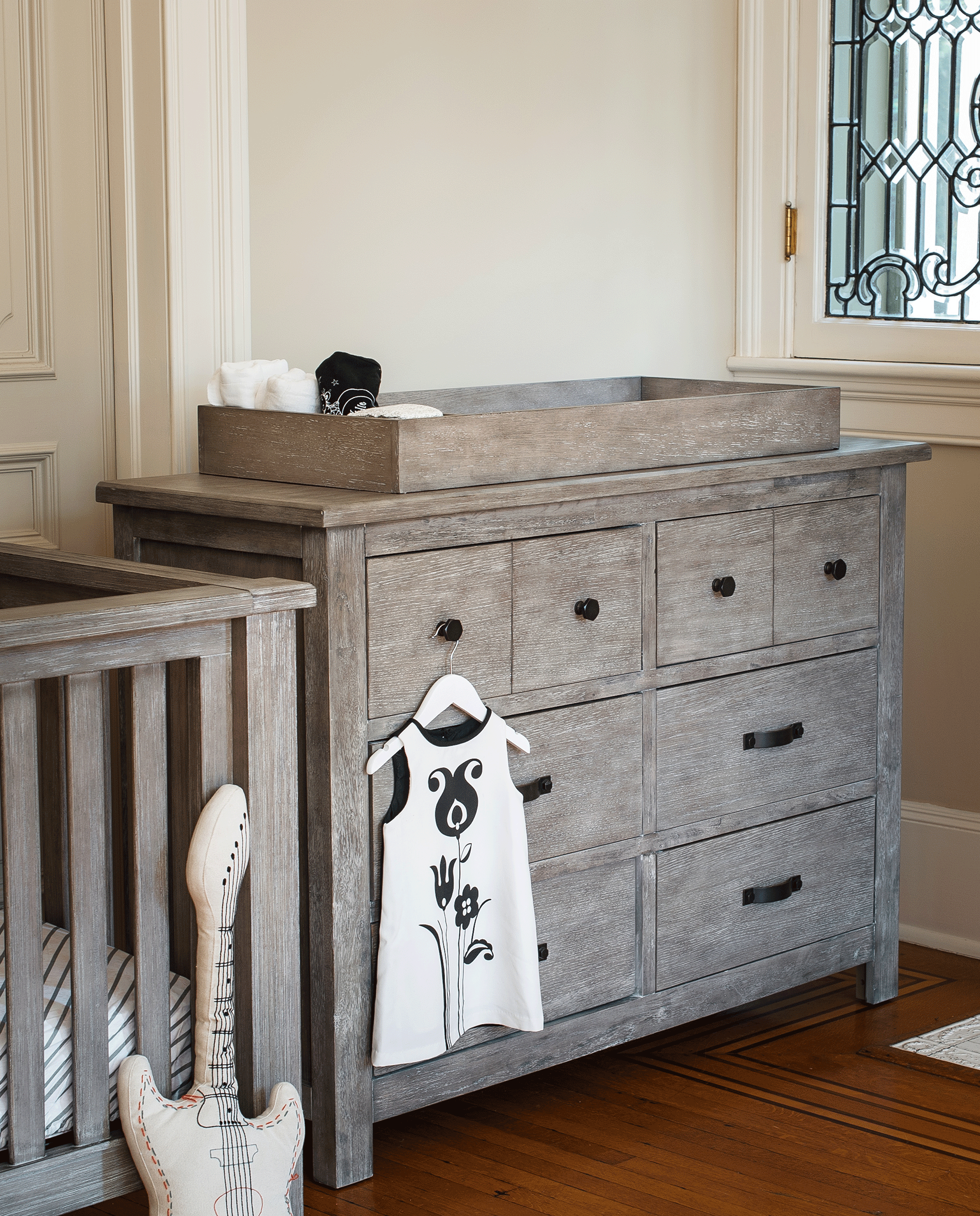Relic 6 Drawer Dresserwith Changer Topper