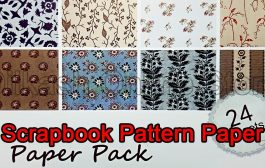 Scrapbook Paper Craft Pattern 6x6 Inches - Pattern Paper - Paper ...