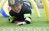 DIY Backyard Obstacle Course for a Birthday Party!...