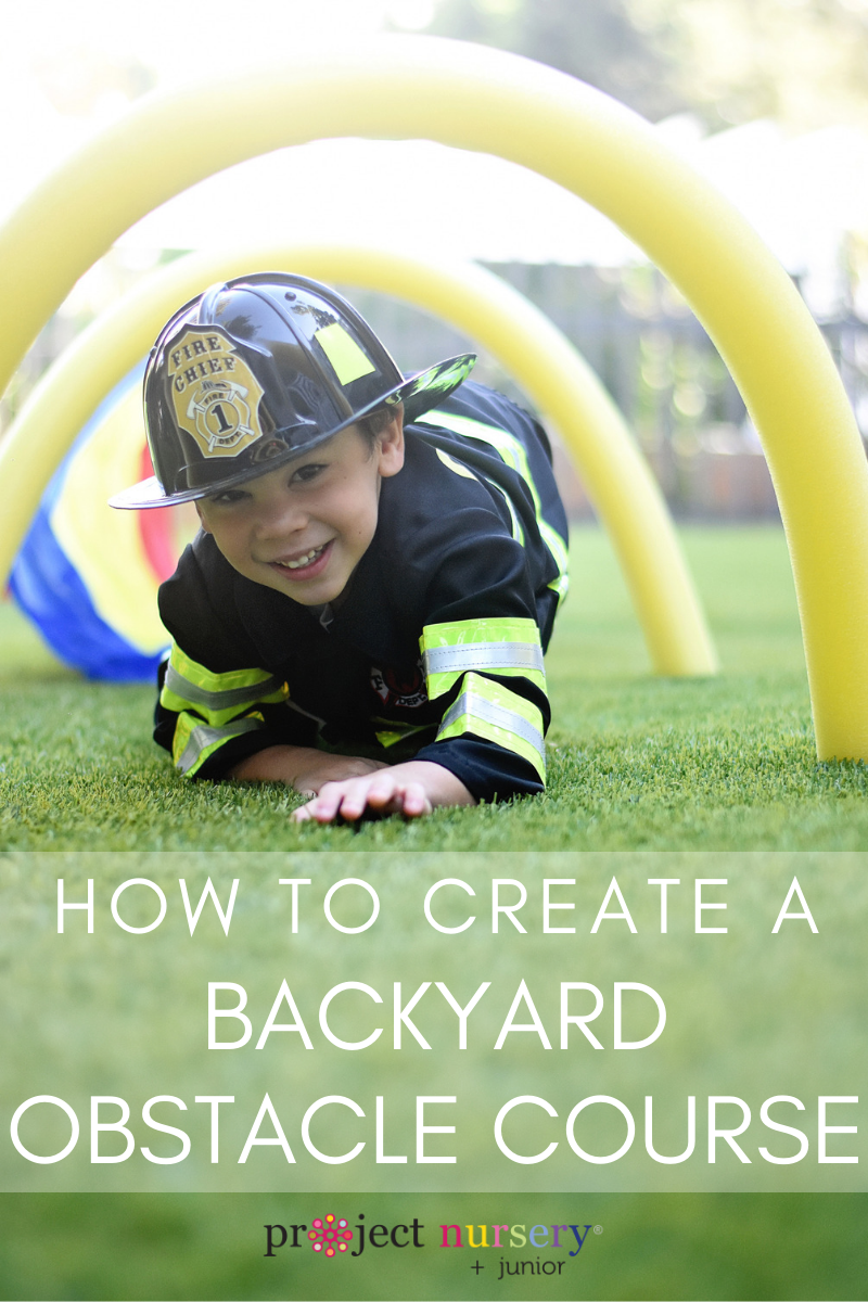 Backyard Obstacle Course Tutorial