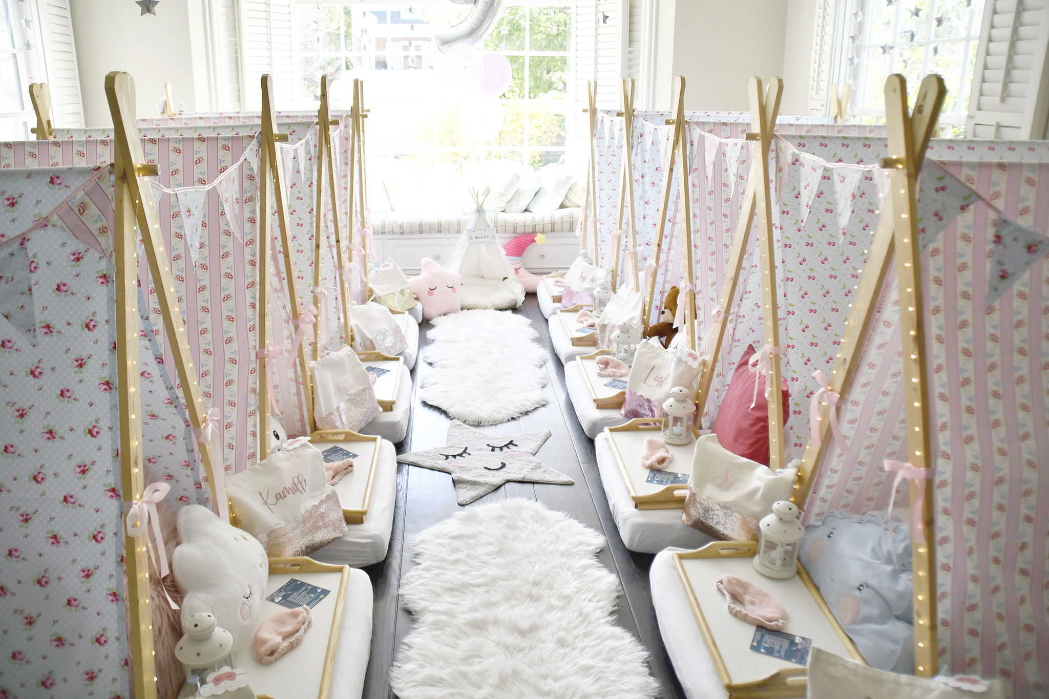 "Plan a Picture Perfect Sleepover or ""Sleep-Under"" Party..."