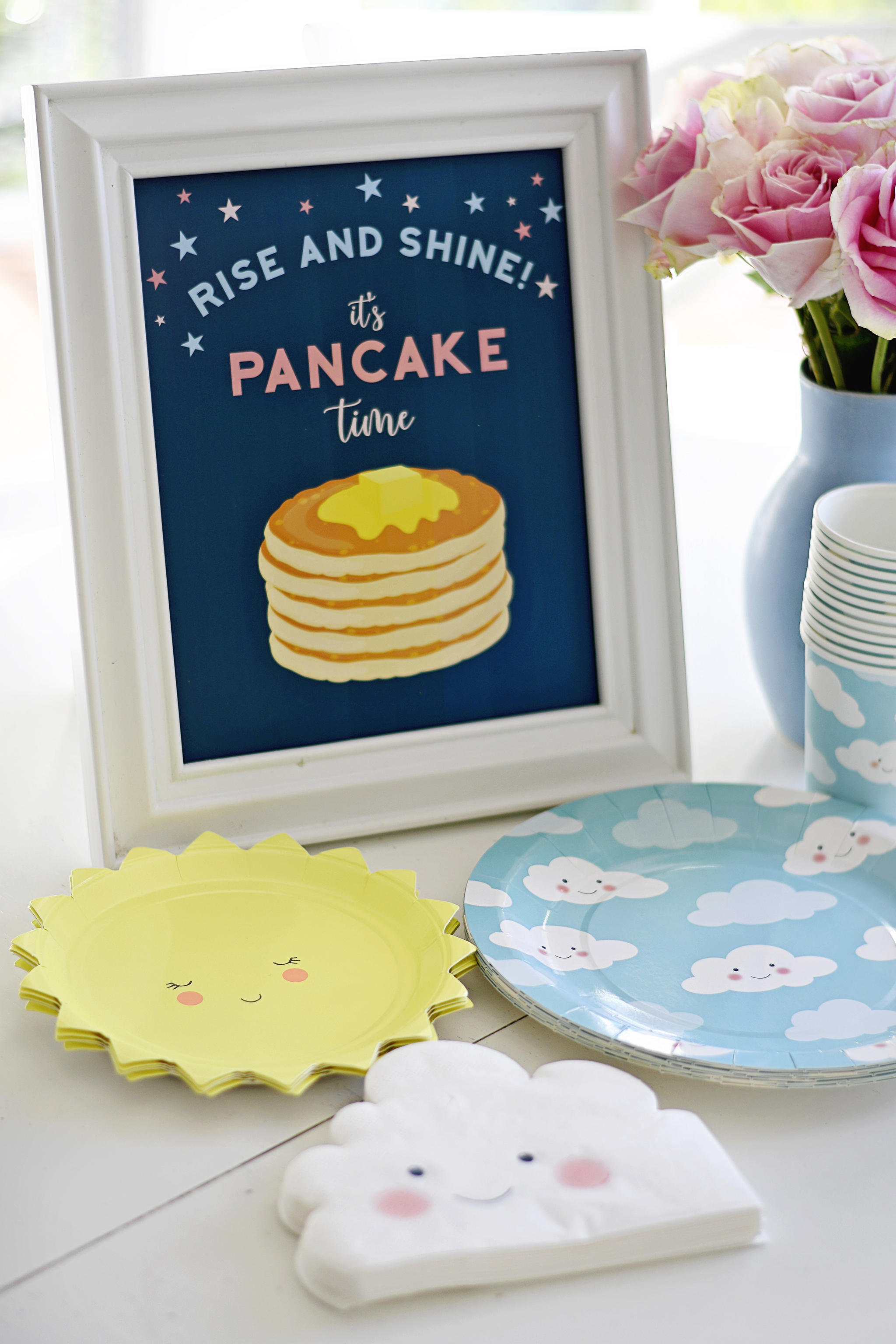 Rise and Shine! It's Pancake Time!