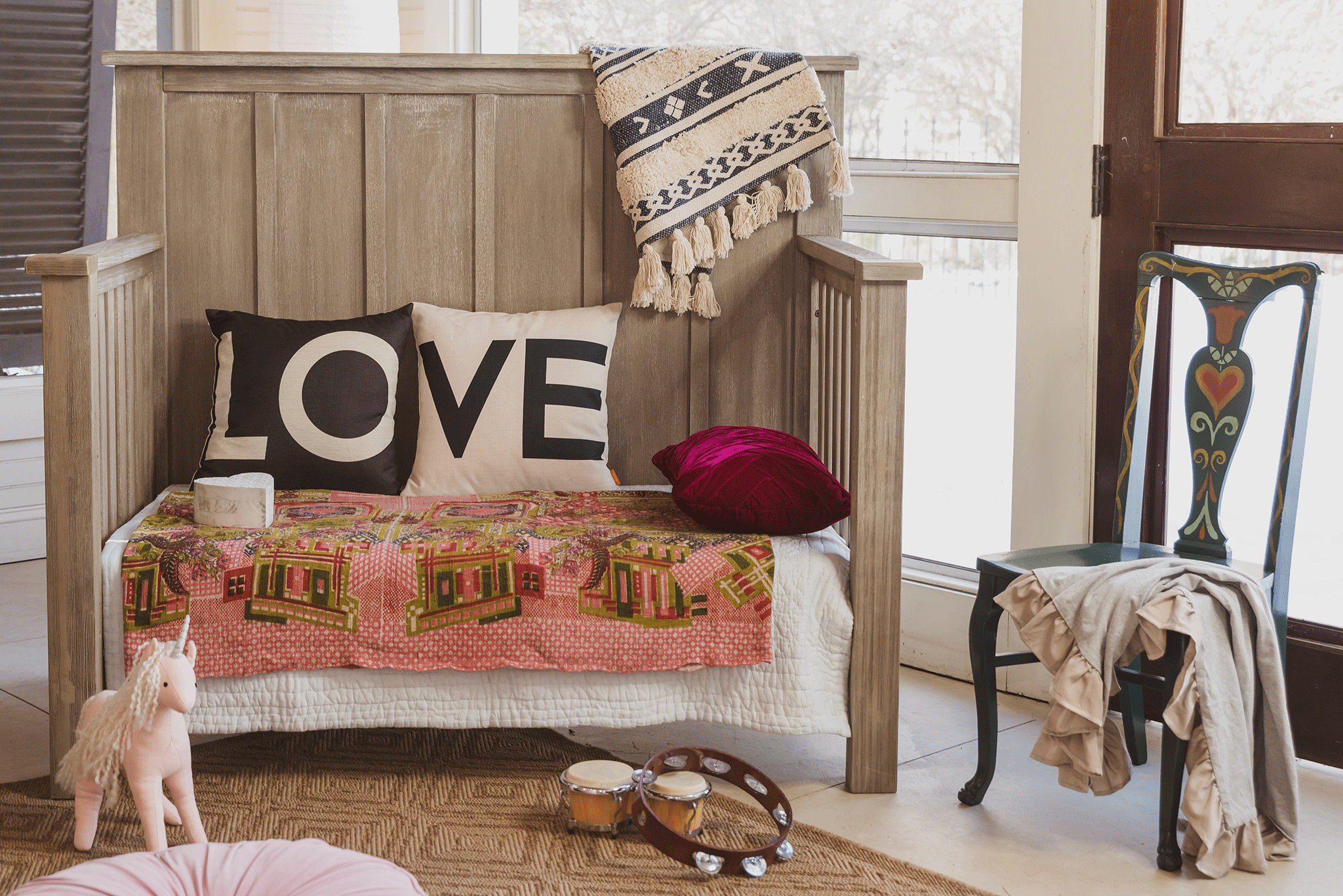 Relic Batten Crib (converted to daybed) - Milk Street Baby