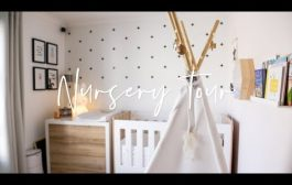 BABY GIRL NURSERY TOUR |  Andrea Lloyd...