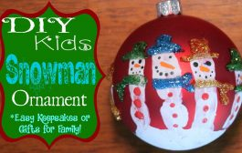 DIY Handprint Snowman Ornament - Super Easy and a Great Keepsake ...