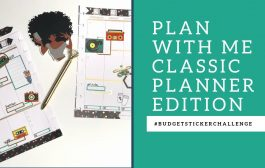 PLAN WITH ME CLASSIC HAPPY PLANNER EDITION |#BUDGETSTICKERCHALLEN...