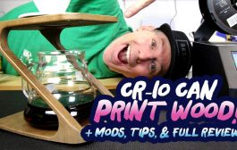 BEST 3D Printer? - Creality CR-10 Prints Wood, PLA, ABS, TPU - FU...