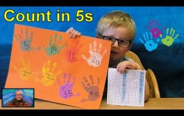 How to Master Counting in 5s with Hand Prints | Kids Educational ...