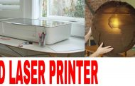 With Live Camera Preview 3D Laser Printer that Prints on Wood,Lea...