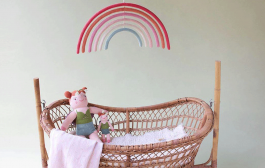 Somewhere Over the Rainbow Baby Gifts + Decor...
