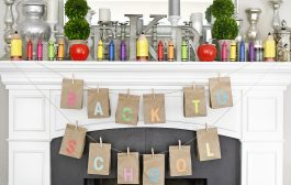 Back to School DIY Brown Bag Banner...