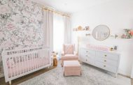 A Blush and Gold Nursery Reveal with Serious Glam...